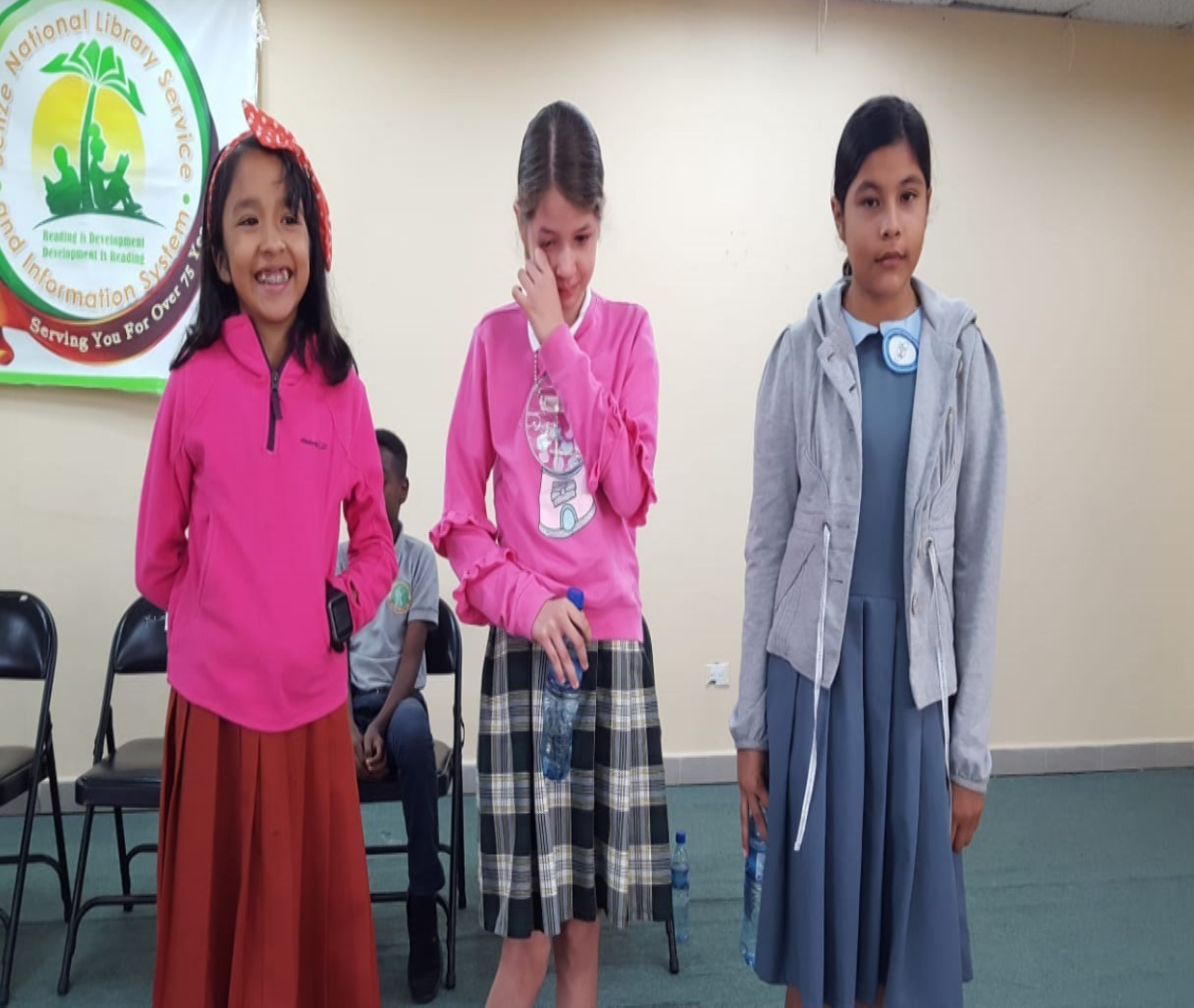 STUDENTS PARTICIPATE IN READING COMPETITION